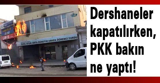 PKK bakın ne yaptı!