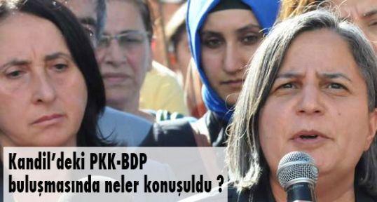 PKK-BDP buluşmasında neler oldu