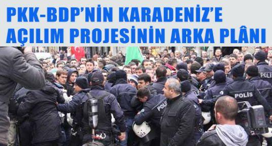 PKK-BDP'nin Karadenize Açılım Projesinin Arka Planı