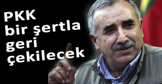 PKK Bir Şartla Çekilecekmiş