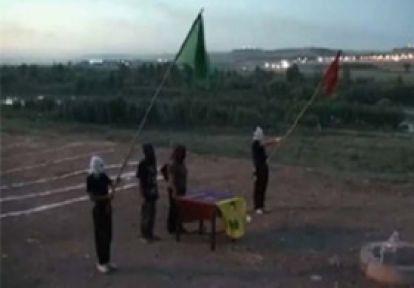 PKK Diyarbakır'da Asayiş Birimi Kurdu...
