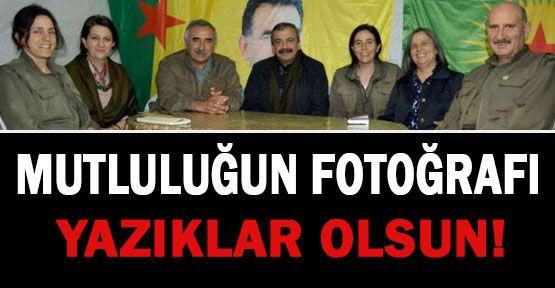 PKK ile BDP'lilerin Mutluluk Resmi...