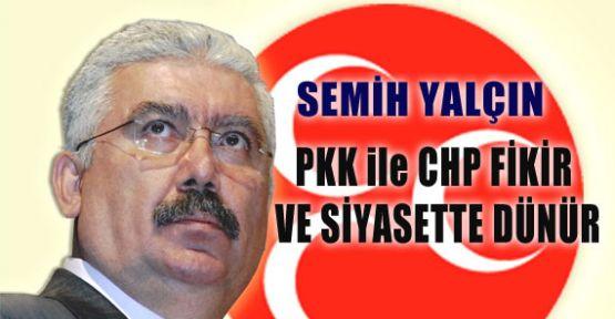 PKK İle CHP Dünür..