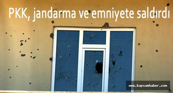 PKK, jandarma ve emniyete saldırdı