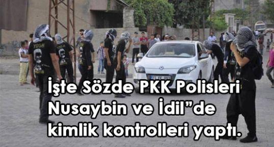 PKK Kendi Polisleriniı Oluşturdu..