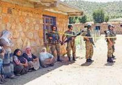PKK Köylere Baskına Başladı...