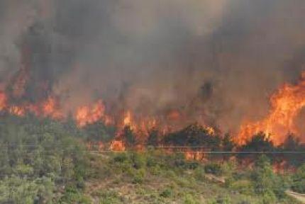 PKK mağaraları alev alev yanıyor