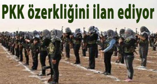 PKK-PYD,  özerkliğini ilan ediyor
