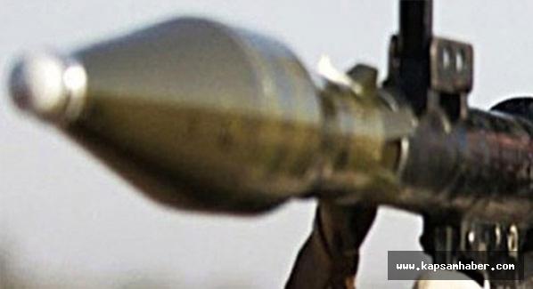 PKK Roketatarla saldırdı...