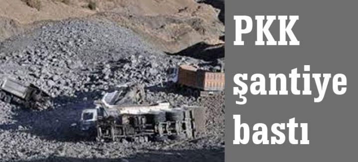 PKK Şantiye Bastı