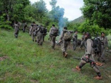 PKK Şemdinli'de Mühimmat Depoluyor...