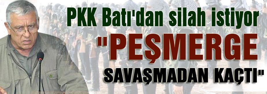 PKK Silah İstedi
