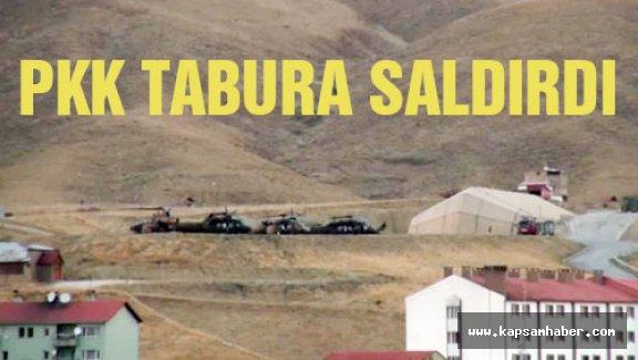 PKK tabura ve lojmanlara ağır silahlarla saldırdı