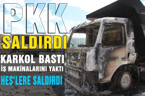 PKK yine saldırdı