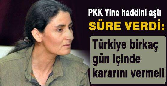PKK Yine Süre Verdi