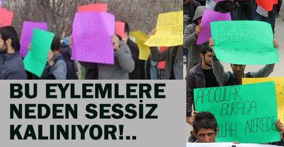 PKK/BDP Çetelerinden İslam`a Hakaret