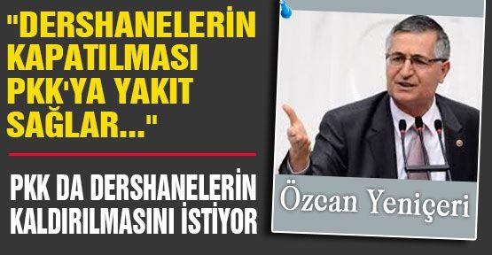 PKK'da Dersanelerin Kapatılmasını İstiyor