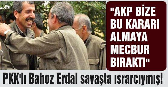 PKK'lı Erdal: