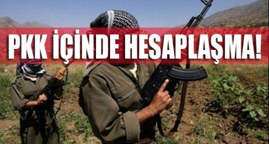PKK'lı Teröristler birbirine mi düştü?
