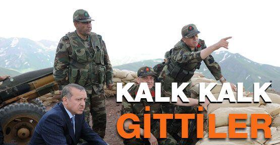 PKK'lılar sınır dışına çıkmaya başladı...