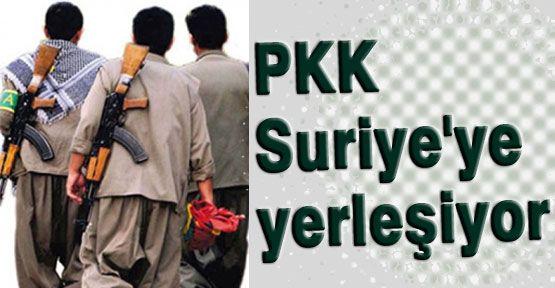 PKK'lılar Suriye'ye Yerleşiyor