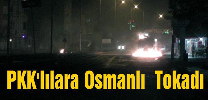 PKK'lılara Osmanlı  Tokadı