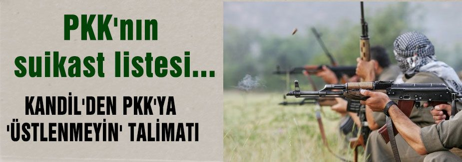 PKK'nın suikast listesi...