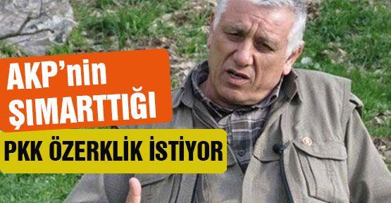 PKK;Şimdide Özerklik İstiyor