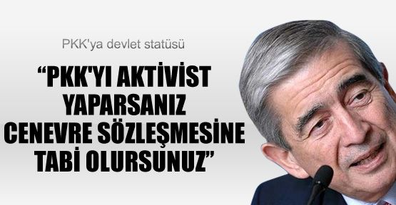 PKK'ya Devlet Statüsü...