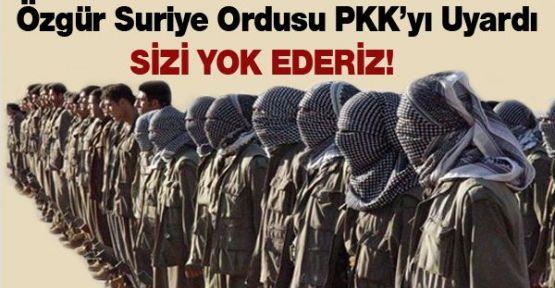 PKK'ya uyarı: Sizi yok ederiz!