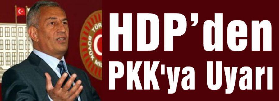 PKK'ya Uyarı:'Savaş kaybettirir'
