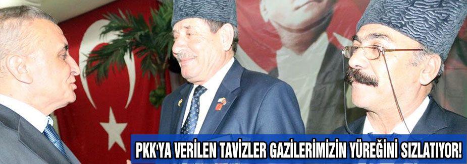 PKK'YA VERİLEN TAVİZLER GAZİLERİMİZİN YÜREĞİNİ SIZLATIYOR!