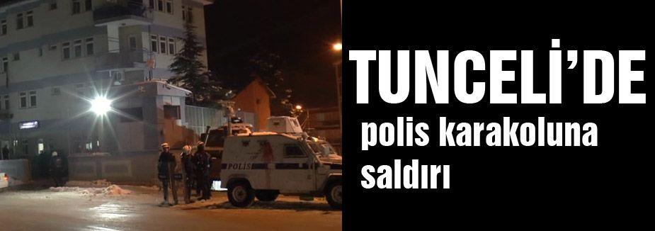 Polis karakoluna saldırı...