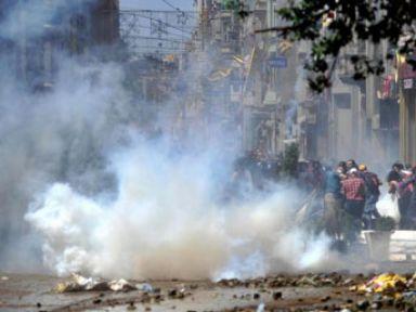 Polis Taksim'den ayrılıyor