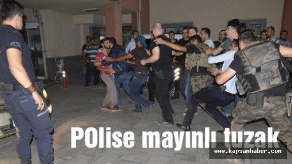 Polise mayınlı tuzak 1 şehit...