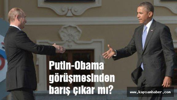 Putin-Obama görüşmesinden barış çıkar mı?