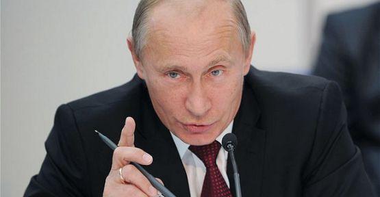 Putin:'Suriye Müdahalesini Destekliyoruz'