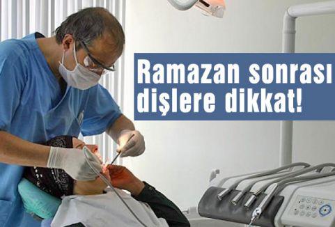 Ramazan sonrası dişlere dikkat!
