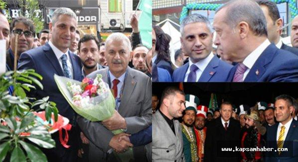 'Resmi ve duygusal bağımız yok' diyen AKP'yi fotoğraflar yalanlıyor