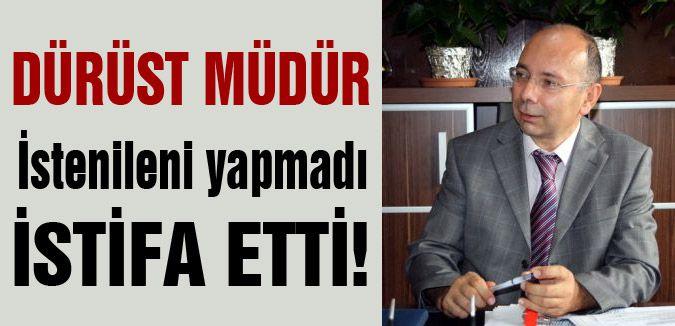 Resul Özbek istifa etti