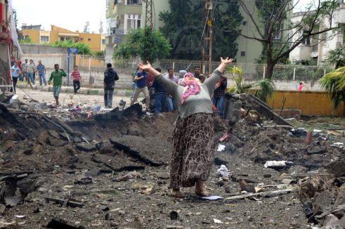 Reyhanlı'da Hayatını Kaybedenlere Rahmet Diliyoruz...