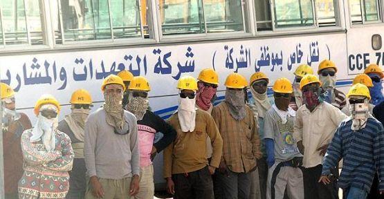 Riyad'da Yabancı işçi isyanı