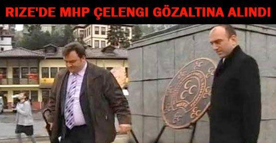 Rize MHP'ye Çelenk Soruşturması