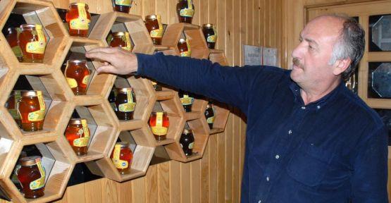 Rize'de  Altın fiyatına organik bal
