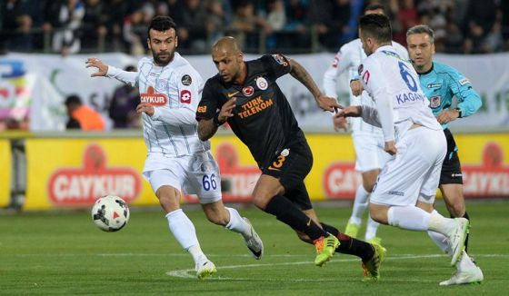Rizespor - Galatasaray: 1-1