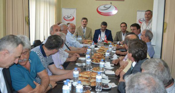 Rumeli Balkan Dernekleri CHP'lileri ağırladı