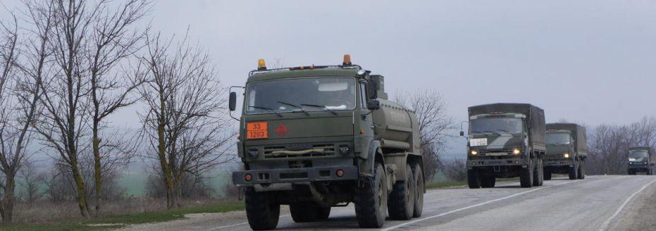 Rus askeri tatbikatta...