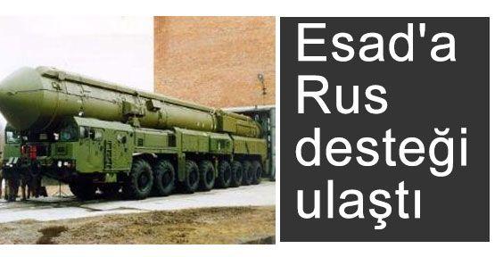 Rus Desteği Suriye'de
