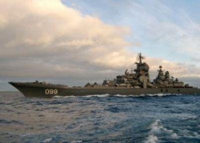 Rus Savaş Gemileri Akdeniz'e Giriş Yaptı...