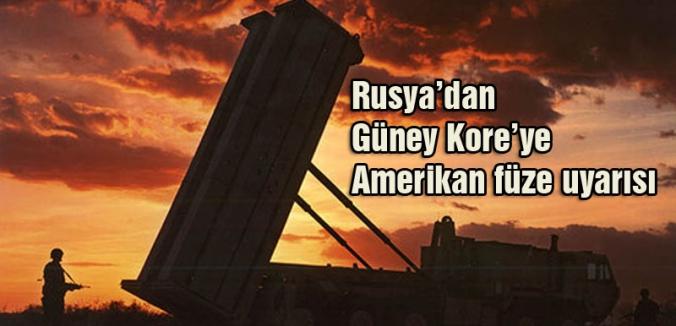 Rusya'dan Güney Kore'ye Uyarı!